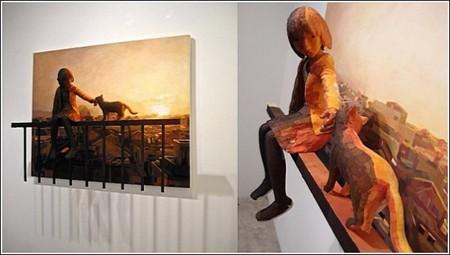 Счастливое детство в картинах-скульптурах Шинтаро Охато — фото 6