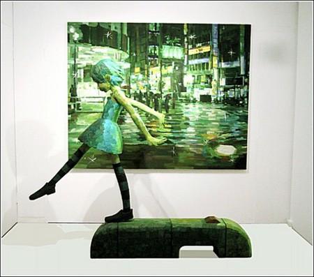 Счастливое детство в картинах-скульптурах Шинтаро Охато — фото 5