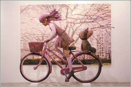 Счастливое детство в картинах-скульптурах Шинтаро Охато — фото 4