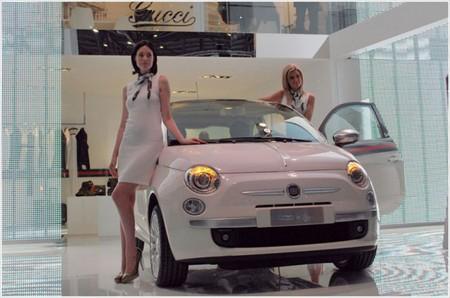 Fiat 500 by Gucci – автомобиль для прекрасных дам — фото 1