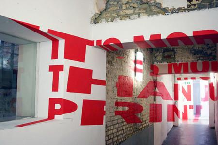 Anamorphic Typography - затейливые слова-иллюзии — фото 3