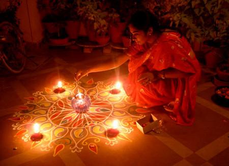 Ранголи - рисунок или молитва? — фото 3