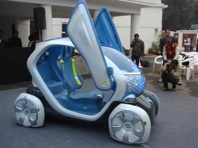 Renault Twizy — самый дешевый в мире электромобиль — фото 2