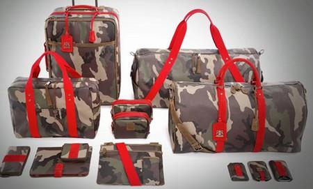 Набор дорожных сумок Red Camo Collection 2011 от Trussardi 1911 — фото 1