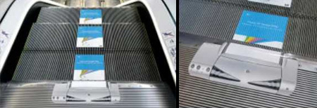 Реклама на лестницах и эскалаторах — фото 5