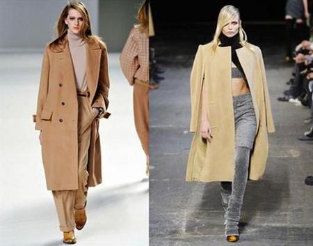 Бежевое пальто - элегантная классика — фото 2