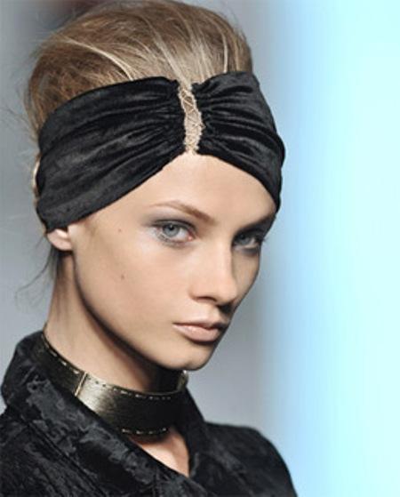 Модные повязки на голову — фото 6