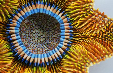 Скульптуры из карандашей от Дженифер Маестре — фото 4