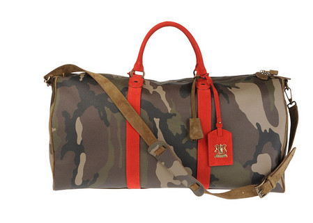 Набор дорожных сумок Red Camo Collection 2011 от Trussardi 1911 — фото 2
