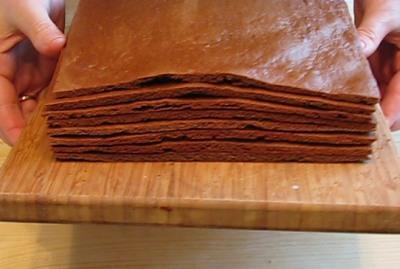 Шоколадно-медовый торт — фото 5