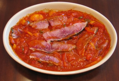 Сазан запеченный под овощным соусом — фото 4