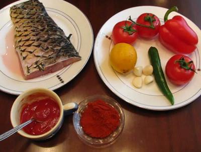 Сазан запеченный под овощным соусом — фото 2