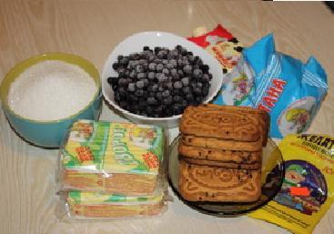 Творожный торт с черникой. — фото 2
