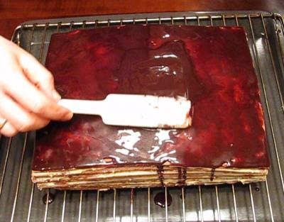 Шоколадно-медовый торт — фото 7