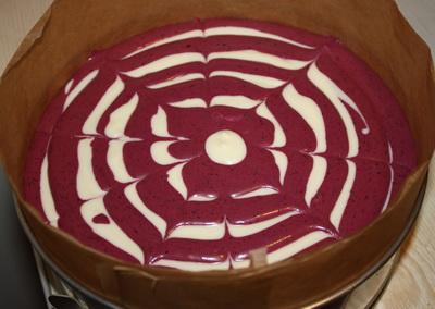Творожный торт с черникой. — фото 5