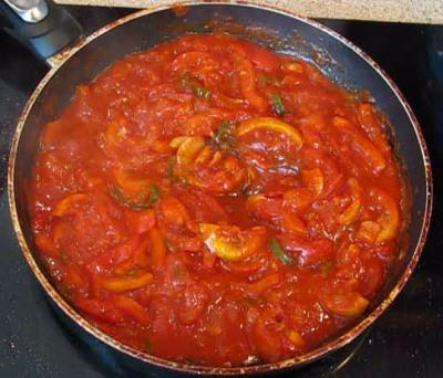 Сазан запеченный под овощным соусом — фото 3