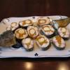 Рыба, фаршированная морковью и перепелиными яйцами