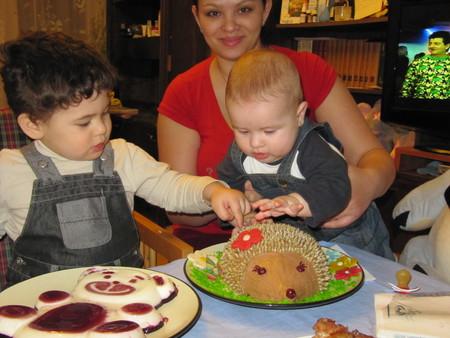 Тортик для маленького сынульки ))) — фото 2