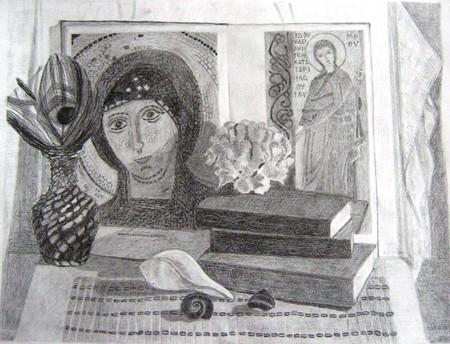 Учебный натюрморт. Карандаш — фото 1