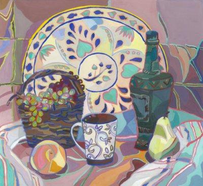 Натюрморты с цветными обводками — фото 4