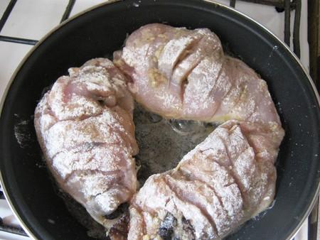Куриные грудки, фаршированные сморчками — фото 9