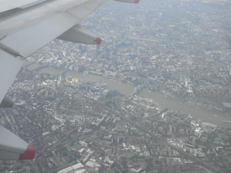 Кусок Лондона с выcоты птичьего полёта