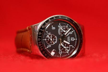 Часы Swatch Dark Phoenix. Счастливые часов не наблюдают? — фото 1