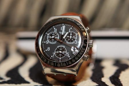 Часы Swatch Dark Phoenix. Счастливые часов не наблюдают? — фото 6