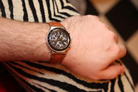 Часы Swatch Dark Phoenix. Счастливые часов не наблюдают? — фото 2