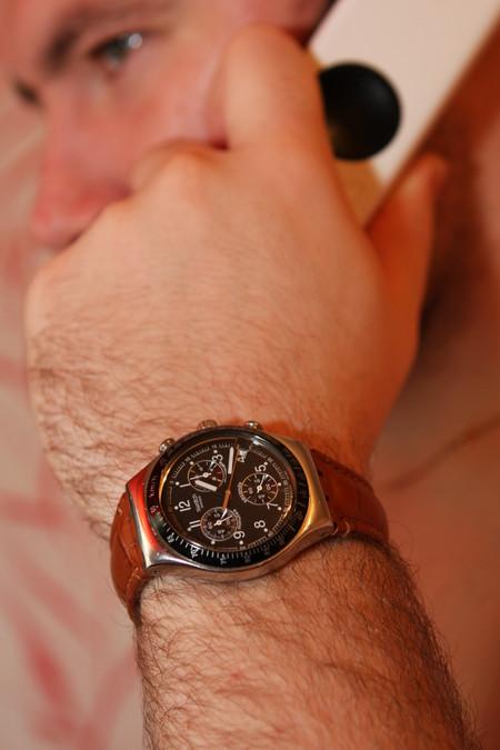 Часы Swatch Dark Phoenix. Счастливые часов не наблюдают? — фото 4