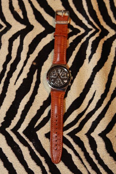 Часы Swatch Dark Phoenix. Счастливые часов не наблюдают? — фото 3