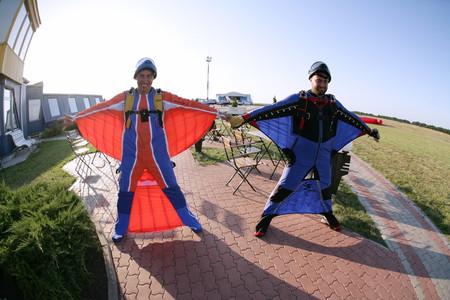Вингсьют: костюм-крыло
