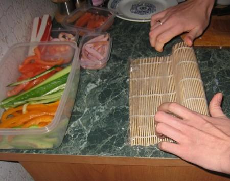 Суши роллы своими руками с фото