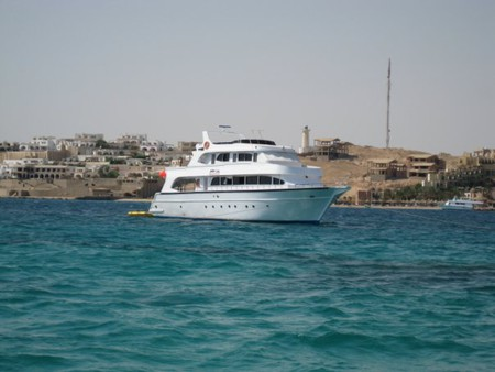 Хургада. Египет. Береговая линия.