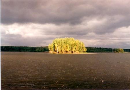 На Чебоксарском водохранилище — фото 1
