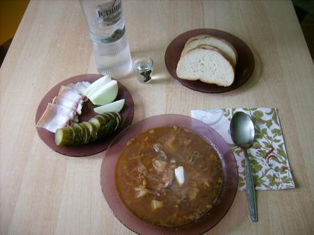 Борщ постный криворожский с килькой в томате. — фото 5