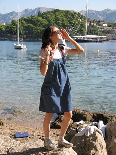 Хорватия. Сосны над морем. — фото 1