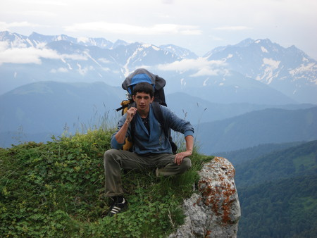 Поход через горы Кавказа к Черному морю — фото 6