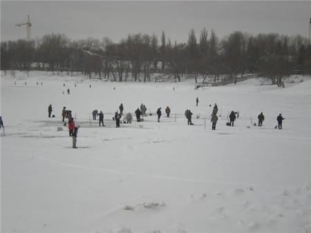 Зимняя рыбалка: открытие сезона-2010 — фото 1