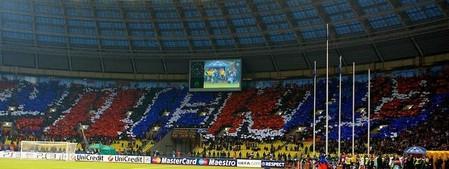 Матч собрал полный стадион зрителей
