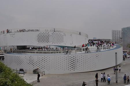 Шанхай развивает архитектуру будущего. Экспо-2010 — фото 7
