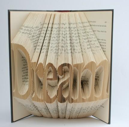 Хенд мейк -  оригами из книг — фото 4