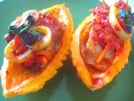 Рыба под итальянским соусом — фото 1