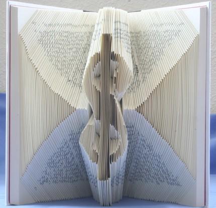 Хенд мейк -  оригами из книг — фото 7