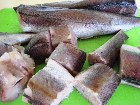 Жареная рыба под грузинским соусом баже — фото 5