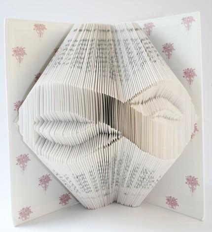 Хенд мейк -  оригами из книг — фото 6