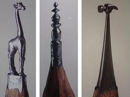 Скульптуры из грифеля. Долтон Гетти — фото 5