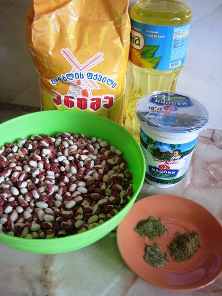 Лобиани - лепешки с фасолью — фото 2