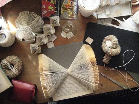 Хенд мейк -  оригами из книг — фото 13