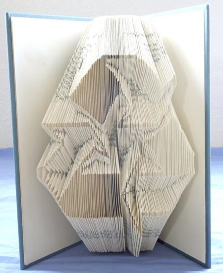 Хенд мейк -  оригами из книг — фото 9